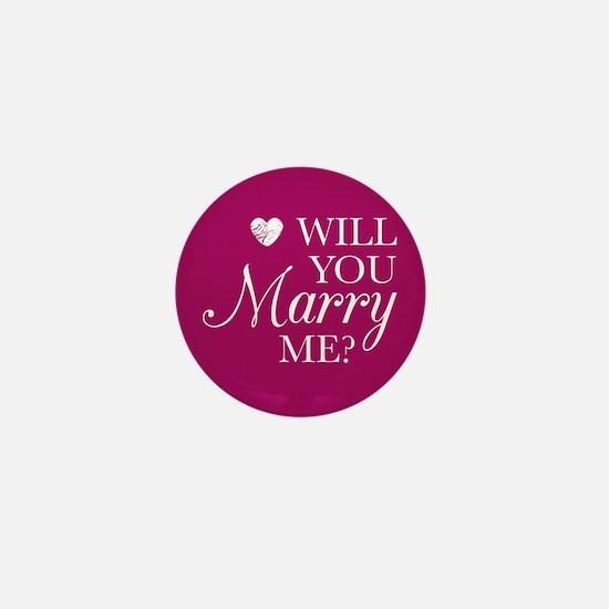 Marry Me Mini Button