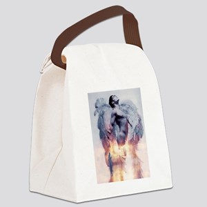 H2H MALE ANGEL FIRST  Canvas Lunch Bag