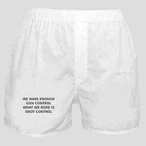 Idiot Control Boxer Shorts