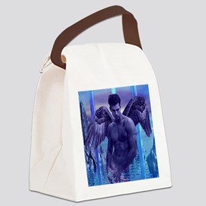 H2H ANGEL MALE IN  WATER Canvas Lunch Bag
