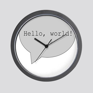 H2H MALE ANGEL PROTECTING Wall Clock