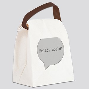 H2H MALE ANGEL PROTECTING Canvas Lunch Bag