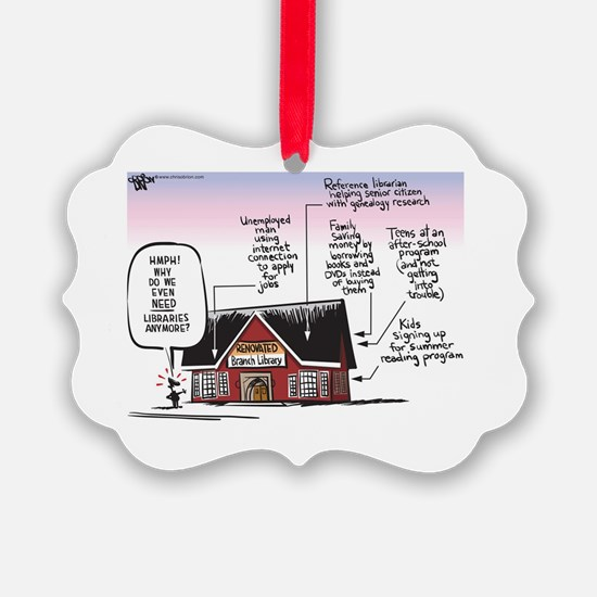 Cute Comic Ornament