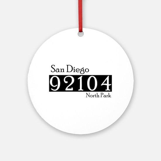 92104NP Ornament (Round)