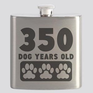 350 Dog Years Old Flask