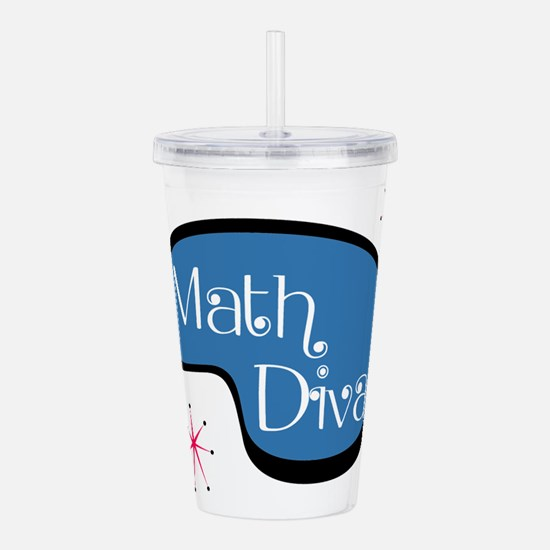 Math Diva Acrylic Double-wall Tumbler