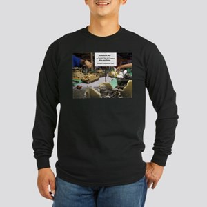 The Games of War 33 Long Sleeve Dark T-Shirt