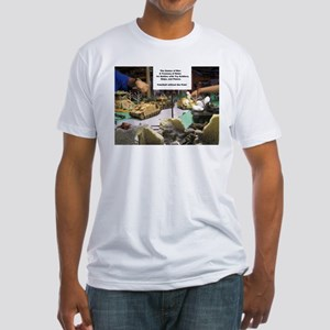 The Games of War 33 Fitted T-Shirt