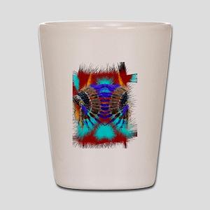 Southwestern Art Shot Glass