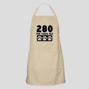 280 Dog Years Old Apron