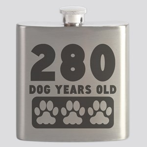 280 Dog Years Old Flask