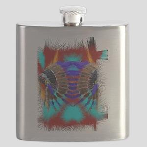 Southwestern Art Flask