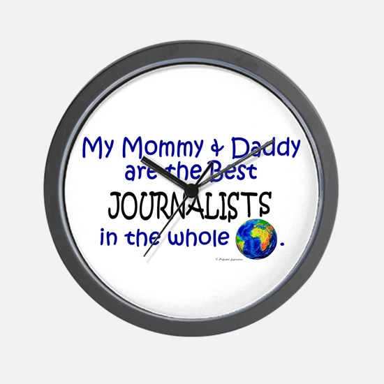 Best Journalists In The World Wall Clock