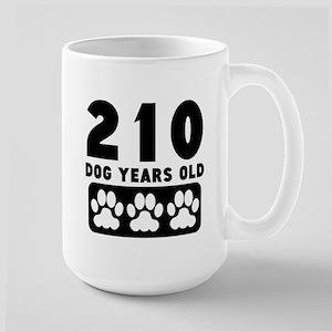 210 Dog Years Old Mugs