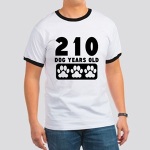 210 Dog Years Old T-Shirt