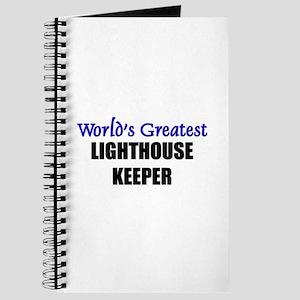 Worlds Greatest LIGHTHOUSE KEEPER Journal