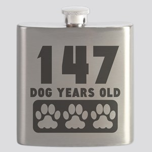 147 Dog Years Old Flask