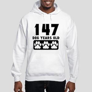147 Dog Years Old Hoodie