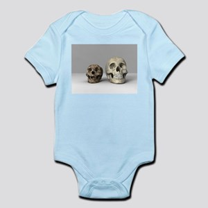 Homo floresiensis skull Body Suit
