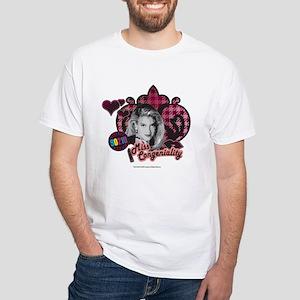 90210: Donna Martin Miss Congenialit White T-Shirt