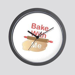 Bake With Me Wall Clock