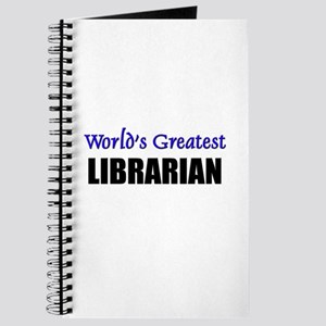 Worlds Greatest LIBRARIAN Journal