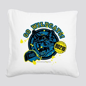 90210: Go Wildcats Square Canvas Pillow