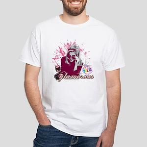 90210: Donna Martin Glamourous White T-Shirt