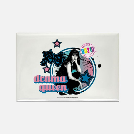 90210: Brenda Walsh Drama Queen Rectangle Magnet
