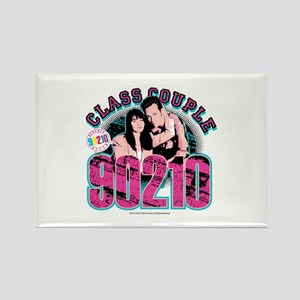 90210: Class Couple Rectangle Magnet