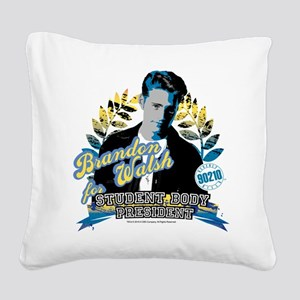 90210: Brandon Walsh Square Canvas Pillow