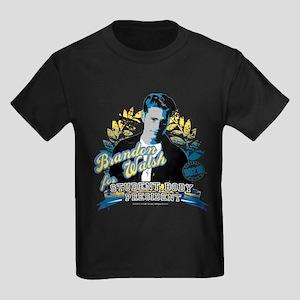 90210: Brandon Walsh Kids Dark T-Shirt