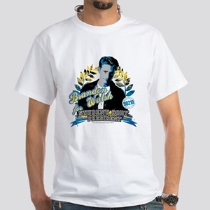 90210: Brandon Walsh White T-Shirt