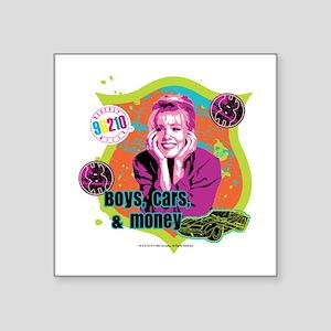 "90210: Kelly Taylor Boys,Ca Square Sticker 3"" x 3"""