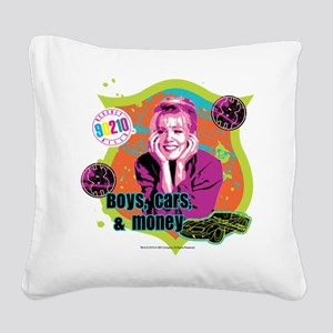 90210: Kelly Taylor Boys,Cars Square Canvas Pillow