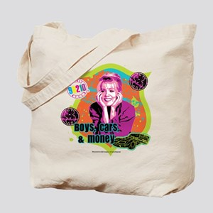 90210: Kelly Taylor Boys,Cars, and Money Tote Bag