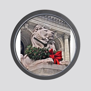New York Public Library Lion Wall Clock