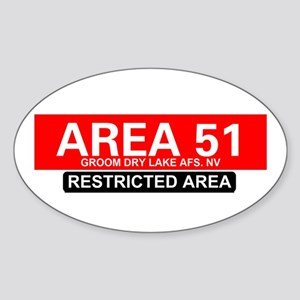 AREA 51 - GROOM LAKE Sticker