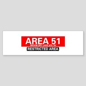 AREA 51 - GROOM LAKE Bumper Sticker