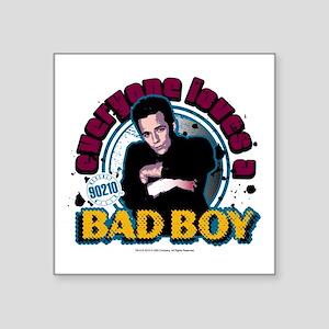 "90210: Dylan McKay Bad Boy Square Sticker 3"" x 3"""