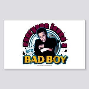 90210: Dylan McKay Bad Boy Sticker (Rectangle)
