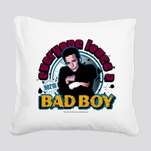 90210: Dylan McKay Bad Boy Square Canvas Pillow