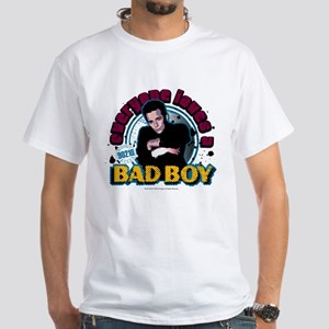 90210: Dylan McKay Bad Boy White T-Shirt