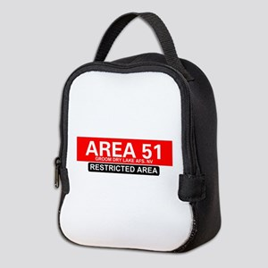 AREA 51 - GROOM LAKE Neoprene Lunch Bag