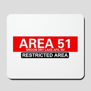 AREA 51 - GROOM LAKE Mousepad