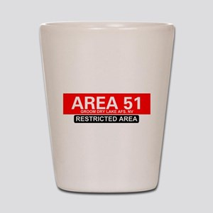 AREA 51 - GROOM LAKE Shot Glass