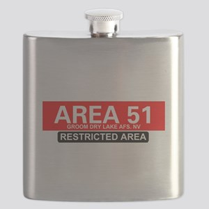 AREA 51 - GROOM LAKE Flask
