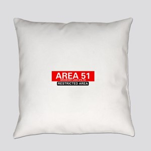 AREA 51 - GROOM LAKE Everyday Pillow