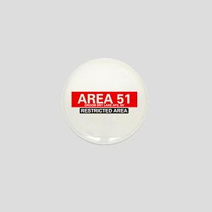 AREA 51 - GROOM LAKE Mini Button
