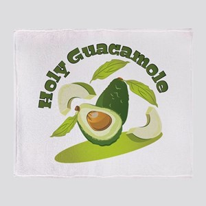 Holy Guacamole Throw Blanket